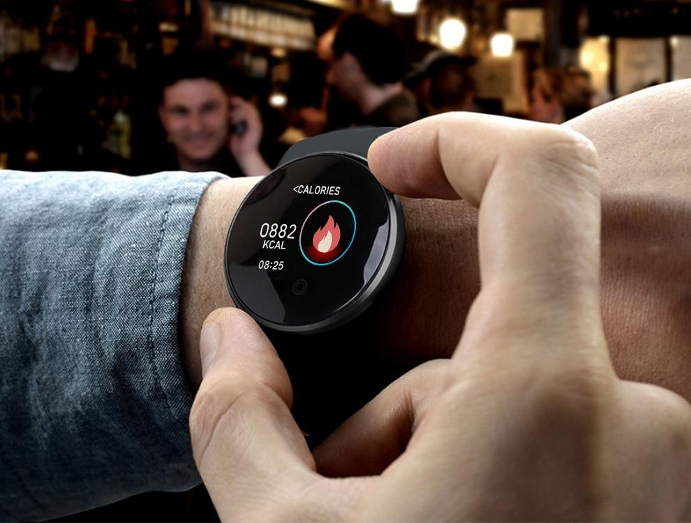 Heb117f1eadea40db980c9890e648a2131 SKMEI Men Smart Watch Heart Rate Sleep Monitor GPS