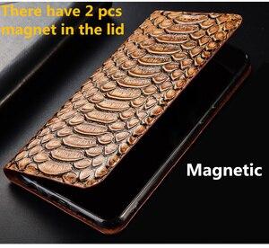 Image 5 - Echte echtem leder magnetische telefon fall kreditkarte slot halter für Xiaomi Redmi K20 Pro/Xiaomi Mi9T flip telefon abdeckung tasche funda