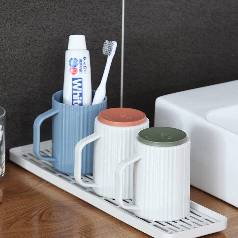Двухслойная Стоковая стойка, пластиковая сушилка на раковину для посуды, поднос для хранения фруктов, Сервировочные лотки, декор для посуды, кухонный Органайзер-2