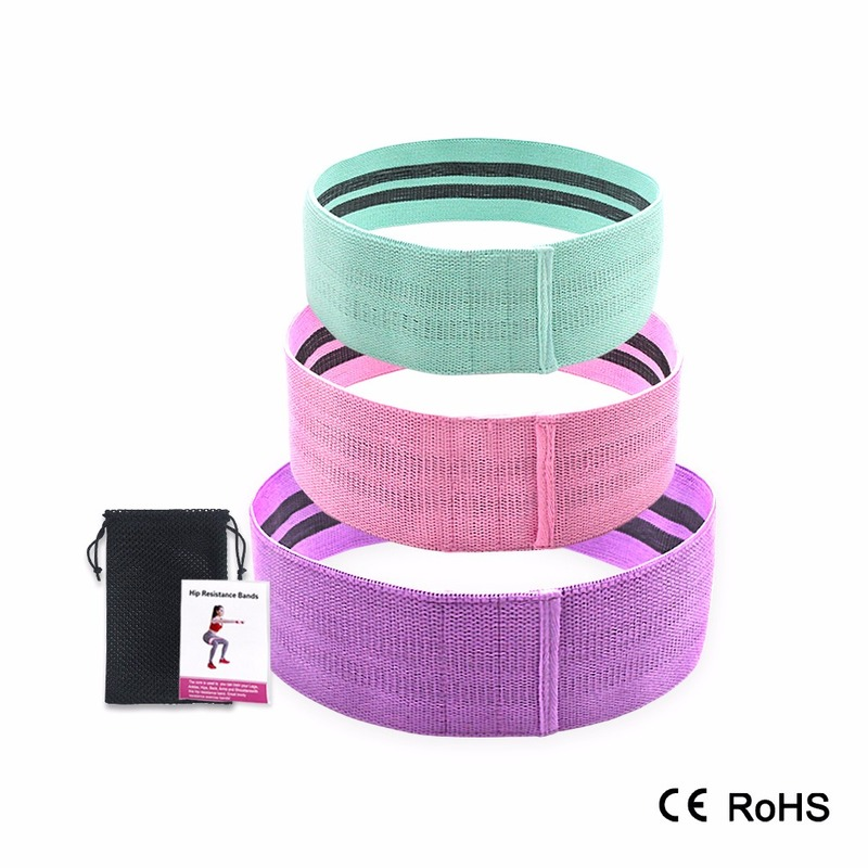 Squat Hip Bands Fitness Ring Resistance Stretch Yoga Tension Field Resistance Training Workout Bands Equipments  Elastic Bands