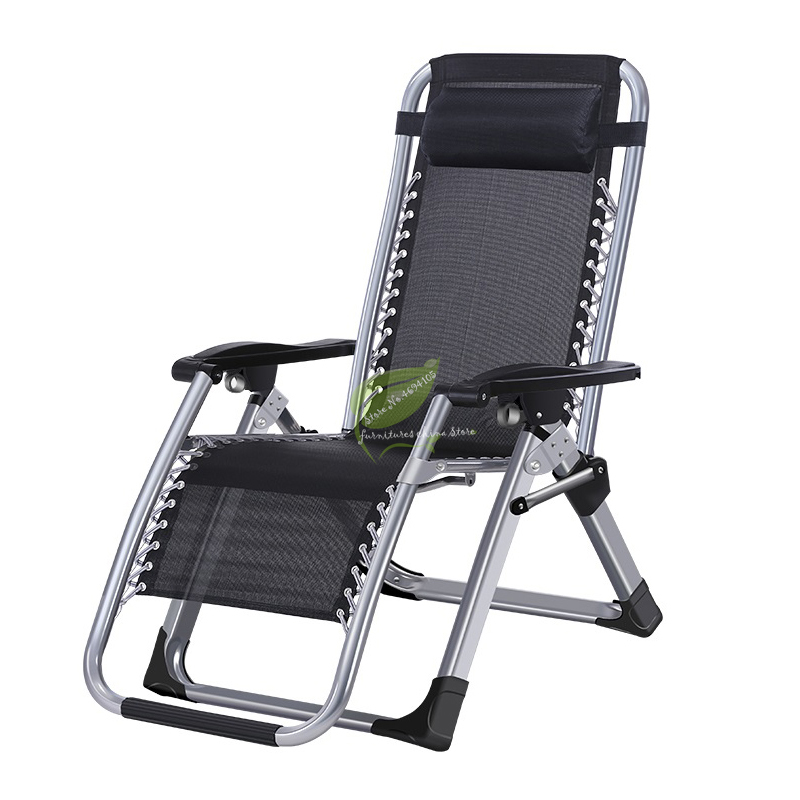 New European Large Armchair Outdoor Lounge Chair Fishing Chair Portable Beach Folding Chair Backrest Stool