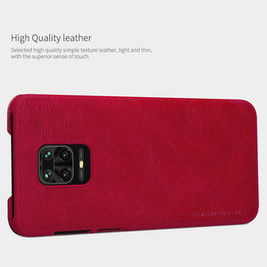 Image 3 - For Xiaomi Redmi Note 9 /9 Pro Flip Case NILLKIN QIN Series Flip Leather Cover For Redmi Note 9 Pro max with wake/Sleep Function