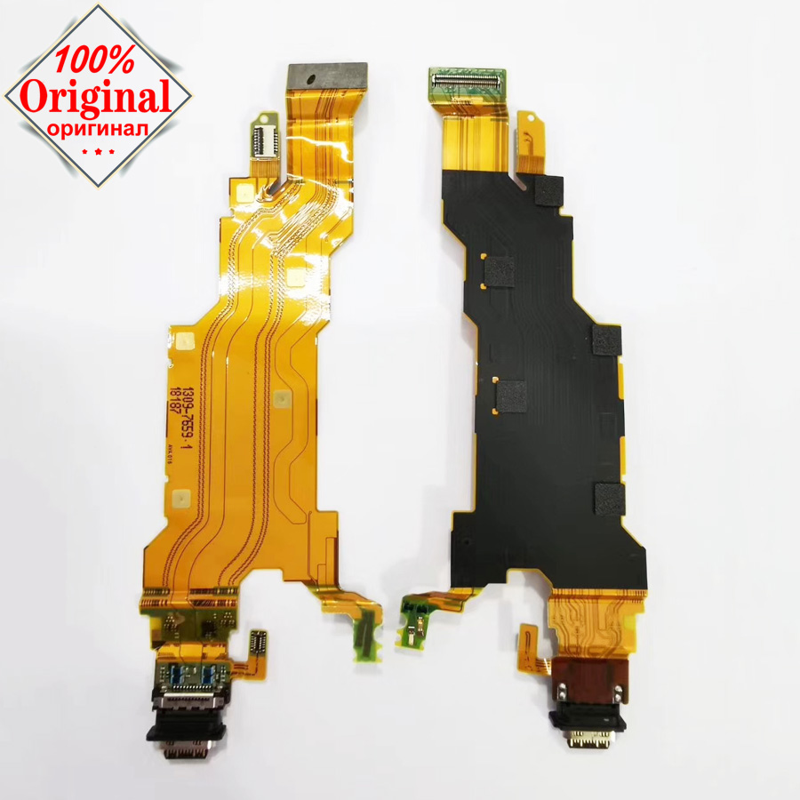 100% Original Type-C USB Connector Charger Dock Charging Port Ribbon Flex Cable For Sony Xperia XZ2 H8216 H8266 H8276 H8296