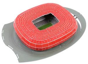 Image 4 - קלאסי פאזל DIY 3D פאזל עולם כדורגל אצטדיון אירופאי כדורגל משחקים התאסף בניין דגם פאזל צעצועים לילדים