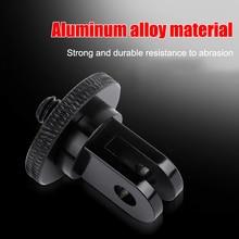 Stop aluminium 1/4 cal Mini statyw Adapter do GoPro Sjcam M10 Xiaomi Yi 4K Eken insta360 jeden x/x2