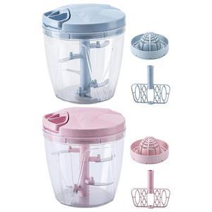 Multifunction Manual Meat Grinder Food Chopper Mincer Mixer Blender Hand-power Citrus Juicer for Orange Fruit Squeezer Baby Care