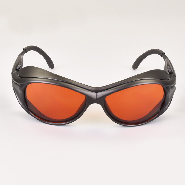 Image 2 - laser safety glasses for multi wavelengths lasers 190 550nm and 800 1100nm O.D 6+ CE 532nm and 1064nm lasers-in Safety Goggles from Security & Protection