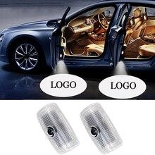 1-10 Set LED Welcome Light For INFINITI Q50 Q60 Q70 QX50 QX70 QX80 G37 G25 FX M/EX Series Car Door Logo Projector Lamp