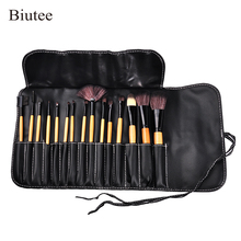 Biutee 10pcs/set Luxury Champagne makeup brushes set For Foundation Po