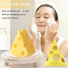 Новое увлажняющее масло-контроль против клещей, очищающее мыло для тела лица, мыло для сыра, матовое мыло, уход за лицом