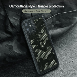 Image 2 - Voor Apple Iphone 11 Pro 2019 Geval nillkin Militaire Camouflage Protector Case Shell Anti Klop Tough Back Cover Voor Iphone 11