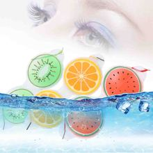 Ice Gel Eye Mask Cold Compress Shield Sleep Eye Cute Fruit Gel Fatigue Relief Cooling Eye Care Relaxation Eye Protection Tools