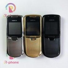 Восстановленный Мобильный телефон Nokia 8800 Classic Мобильный телефон 2G GSM разблокированный 8800 2 МП русская Арабская английская клавиатура