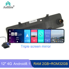 Mirror Parking-Monitor Dash-Cam ADAS Anfilite Android Camera Video-Recorder 32GB GPS
