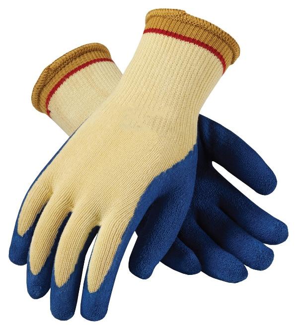 Soft Aramid Fiber Wrapped Steel Yarn Cut Proof Safety Glove Maxi High Flex Anti Cut Resistant Micro Crinkle Latex Work Gloves