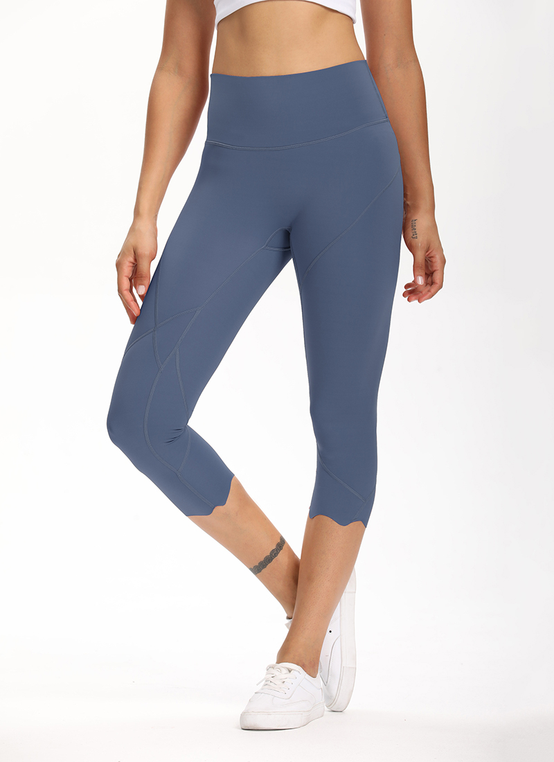 Heb13e05284714cf2a78e93e5cc9af72fE Cardism High Waist Sport Pants Women Yoga Sports Gym Sexy Leggings For Fitness Joggers Push Up Women Calf Length Pants Wave