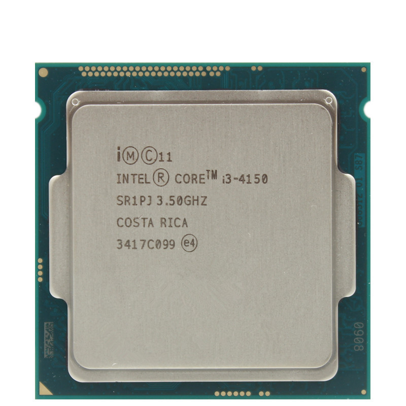 Intel Core I3 4150  i3 4150 3.5GHz  SR1PJ Dual Core Dual  threads  2 Core 2 threads LGA1150 CPU Processor