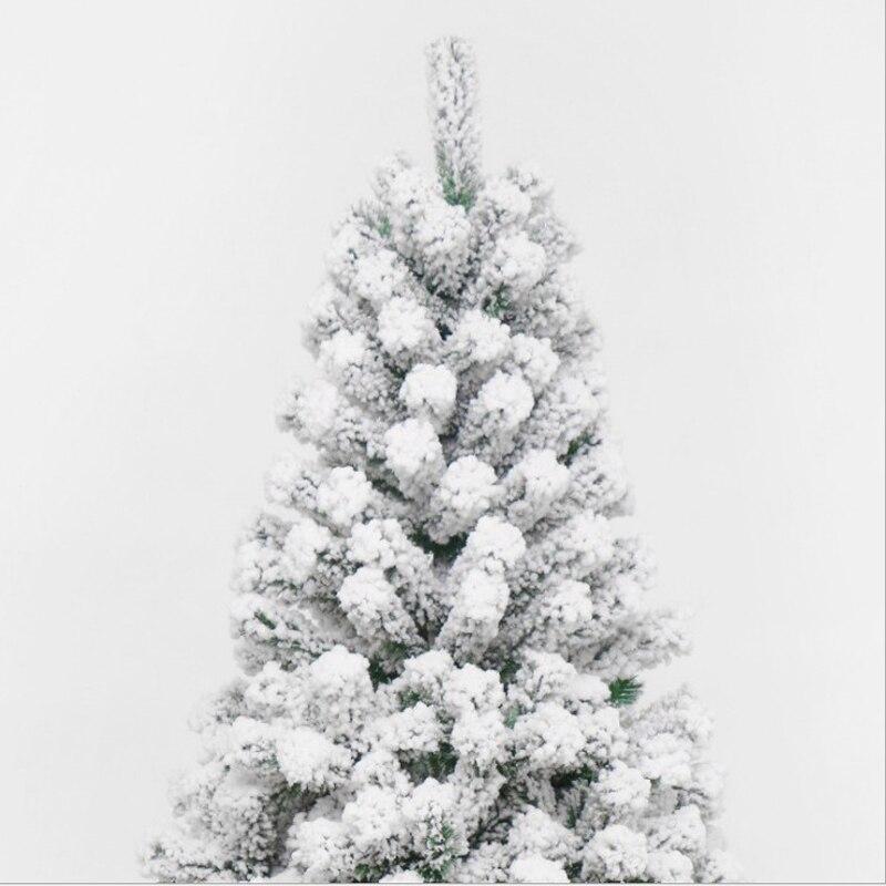 120 см ПВХ белая Снежинка Новогодняя вечеринка домашний Рождественский отель украшения Рождественская елка - 3