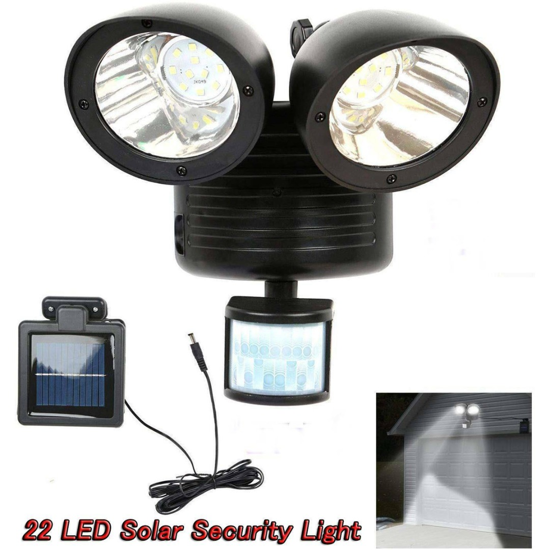 22 LED PIR Detector Solar Security Lamp Solar Spot Light Motion Sensor Floodlight For Garden Yard Outdoor Lighting