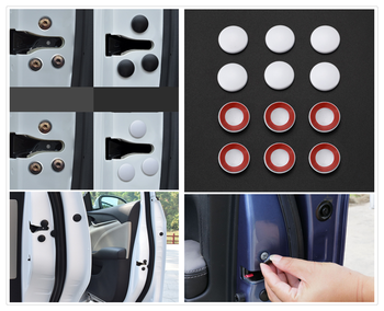 12PCS auto parts universal door side screw protection cover rust for BMW EfficientDynamics E46 E39 E38 E90 E60 E93 F30 F31 F80 image