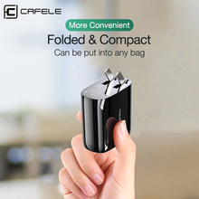 Cafele 33W Fast USB Charger Quick Charge 4.0 3.0 USB Type C PD Charger US Wall Plug Adapter For iPhone 11 Pro Max Xs Xiaomi 10 9 18w fast usb charger adapter support quick charge 3 0 usb type c pd charger mini portable phone charger for iphone huawei xiaomi