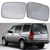 1 par de espelhos retrovisores laterais para land rover discovery range rover v ogue freelander 2 aquecimento espelho retrovisor espelho de vidro|Espelho e capas| |  -