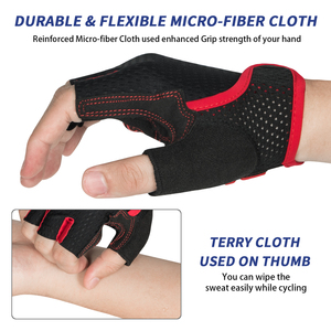 Image 3 - MOREOK bisiklet eldiveni darbeye dayanıklı MTB bisiklet eldiven nefes yol bisikleti sürme döngüsü bisiklet eldivenleri kaymaz bisiklet eldiven erkekler için
