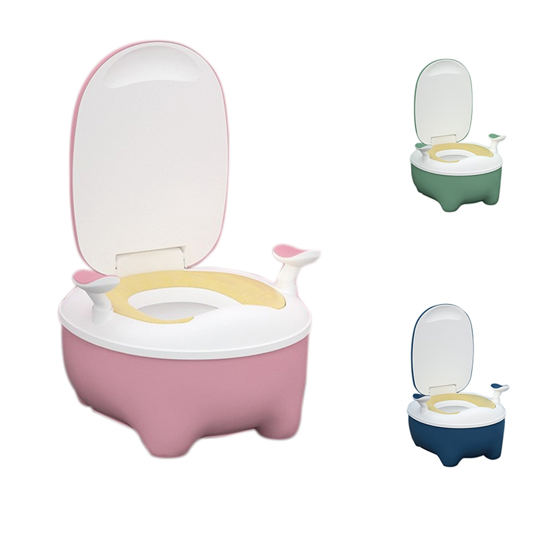 Flip Lid Portable Baby Potty Infant Training Seat Chair for Toddlers