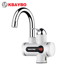 3000W Tankless Water Heater Shower Instant Electric Water Heater Kitchen Instant Hot Water Heaters faucet Free Shipping