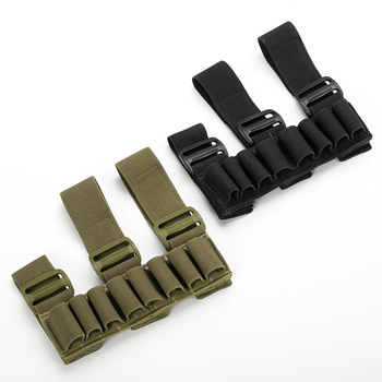 Military 8 Rounds Ammo Bags Shells Reload Arm Band 12 Gauge Bullet Carrier Holder Mag Cartridge Pouch Hunting Accessories 2