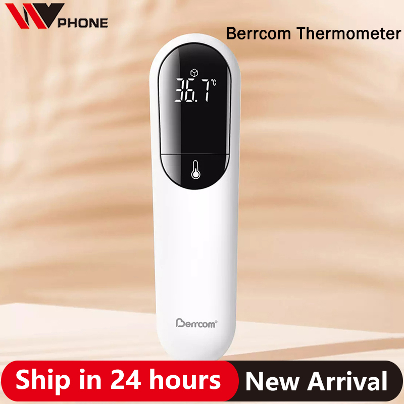 Xiaomi Berrcom Thermometer Accurate Digital Fever Infrared Clinical Thermometer Non Contact Measurement LED Shown
