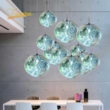 Nordic PVC LED Pendant Lights Living Room Loft LED Pendant Lamp Indoor Decor Kitchen Hanging Lamp Fixtures Villa Stairs Lighting
