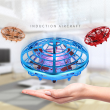 Mini Drone UFO Hand Operated RC Drone Fly Helicopter Quadroc