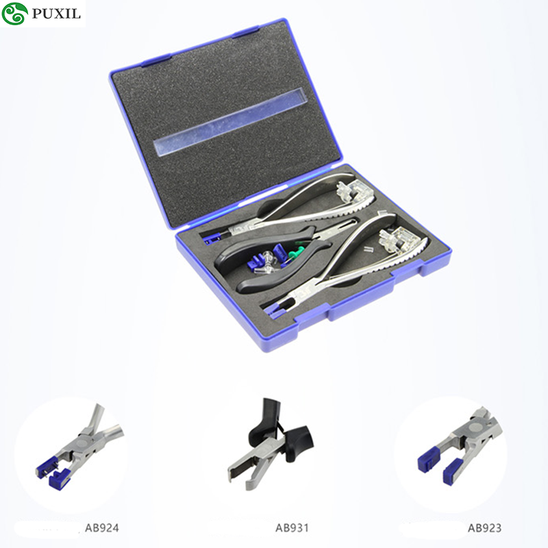 High Quality 3TB01A Frameless Glasses Pliers Rubber Stopper Disassembly Tool Glasses Pliers, Glasses Pliers, Tool Set