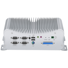 2 DDR4 Mini PC Core i7 10510U 8550U i5 8265U LPT HDMI GPIO 6*COM 4*RS485 Windows 10 Dustproof Fanless Mini Industrial Computer