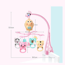 Baby Crib Mobile Rattles Music Educational Toys