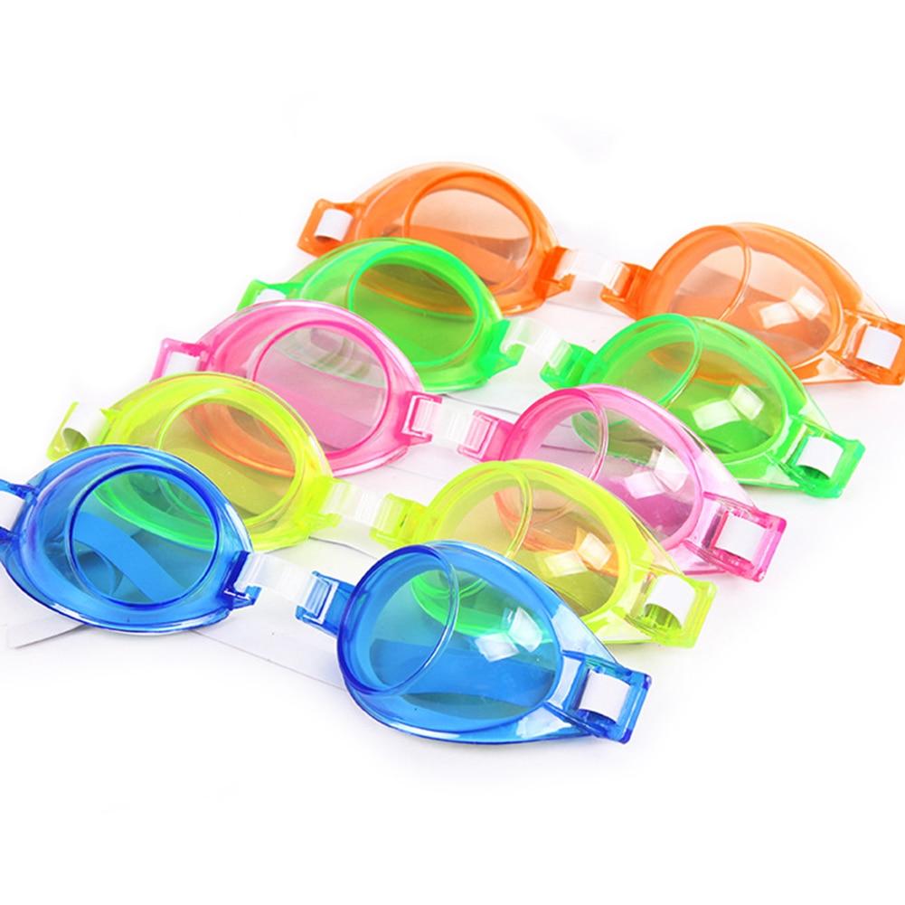 Colorful Children Kid Waterproof Silicone Anti Fog UV Shield Swimming Glasses Goggles Eyewear Eyeglasses Anti-fog Swimming Water