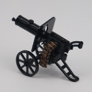 Image 3 - Military Solider Kits Model Toy For Children Building Blocks Toys & Hobbies WW2 Kids Machine Guns Military Weapons Army