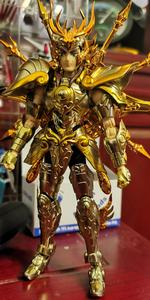Image 2 - CS modeli aziz Seiya bez efsane ruhu tanrı SOG eski altın terazi Dohko metal kumaş SC014