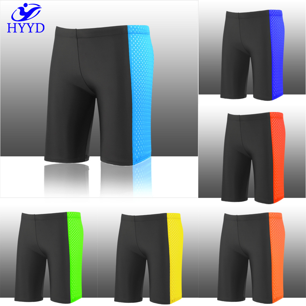 Sea Edge Beaches Up To 2017 Mixed Colors Swimming Trunks Hot Springs Quick-Dry Large Size Boxer Short Swimming