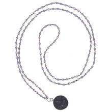 C.QUANCHI Faced Teardrop Crystal Beads Charm Necklaces Handmade Fashion Women Tibetan Buddhist Pendant Prayer Necklaces Jewelry цена 2017