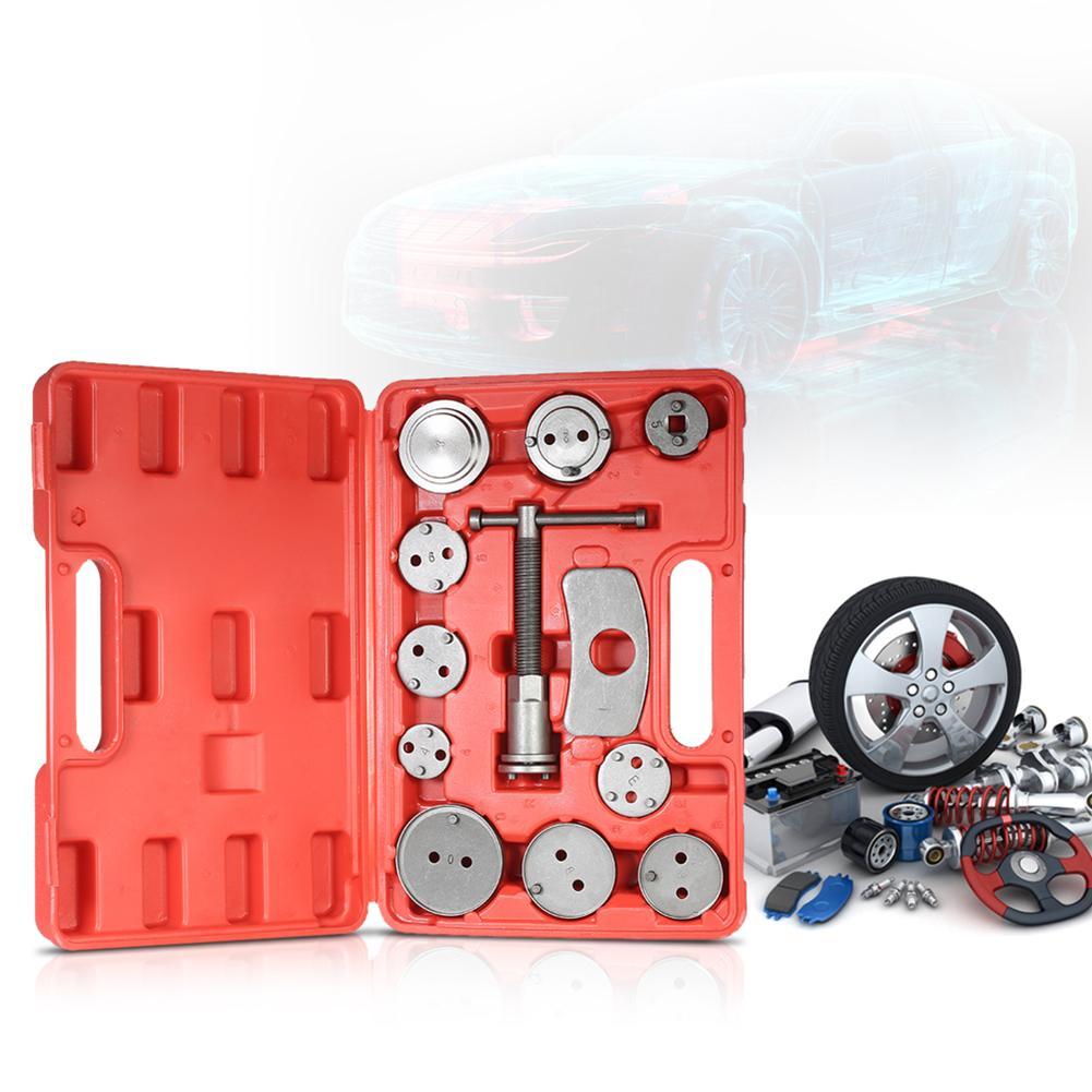12Pcs Universal Car Disc Brake Caliper Pad Piston Compressor Repair Tool Set