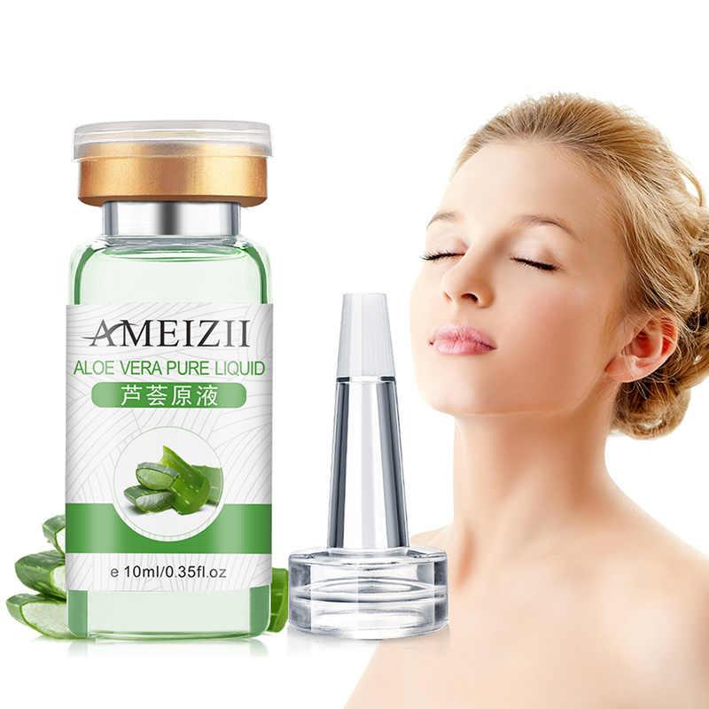 Aloe Vera seis péptidos Proteína de colágeno puro ácido hialurónico antiarrugas suero facial hidratante cuidado de la piel TSLM1