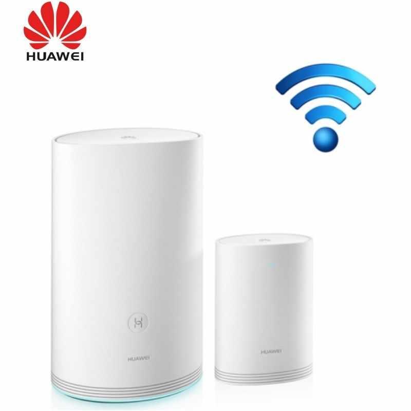 D'origine Huawei Q2 Pro 2.4GHz 300Mbps 5GHz 867Mbps Double Bande Haute Vitesse Routeur Sans Fil Ensemble 1750m 11ac routeur Sans Fil Gigabit