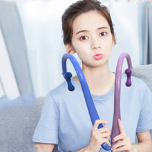 Back Massager Stick Backscratcher Self-Massage Hook Tool Deep Pressure Trigger Point Body Muscle Relax Pain Relief Therapeutic