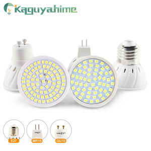 Kaguyahime LED Gu10 Mr16 Bulb E27 LED Spot Lamp Bulb AC 220V 4W 6W E27 Full Spectrum Light MR16 LED Spotlight Bombillas Lampada
