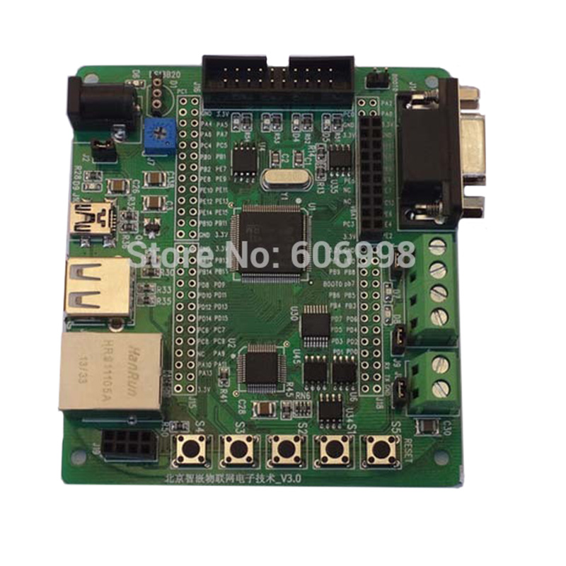 STM32F107 Development Board STM32F107VCT6 Ethernet RC522 IOT Multiple Interfaces Support Radio Frequency Module