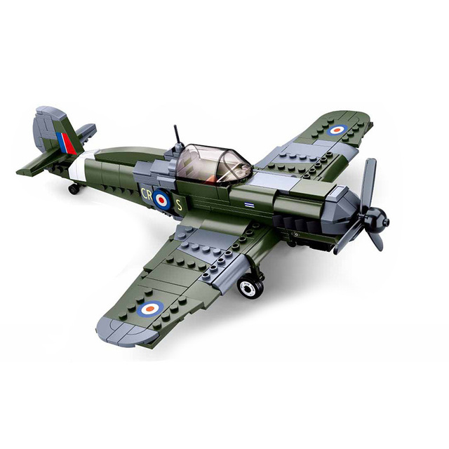 WW2 Military Pazer Planes Army Vehicle Compatible War Fighter Jet Armored Soviet Car Building Blocks Bricks