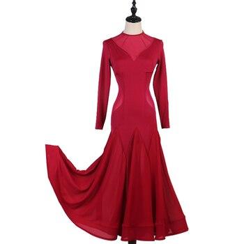 Custom made New ballroom dance competition dress dance ballroom waltz dresses standard dance dress women ballroom dress