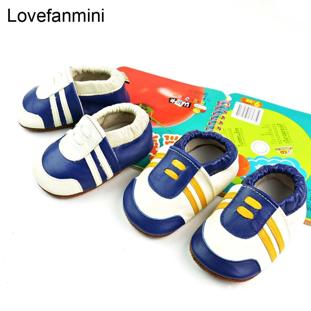 Baby Shoes Soft Genuine Sheepskin Leather Baby Boys Girls Infant Toddler Moccasins Shoes Slippers First Walkers Non-slip 110